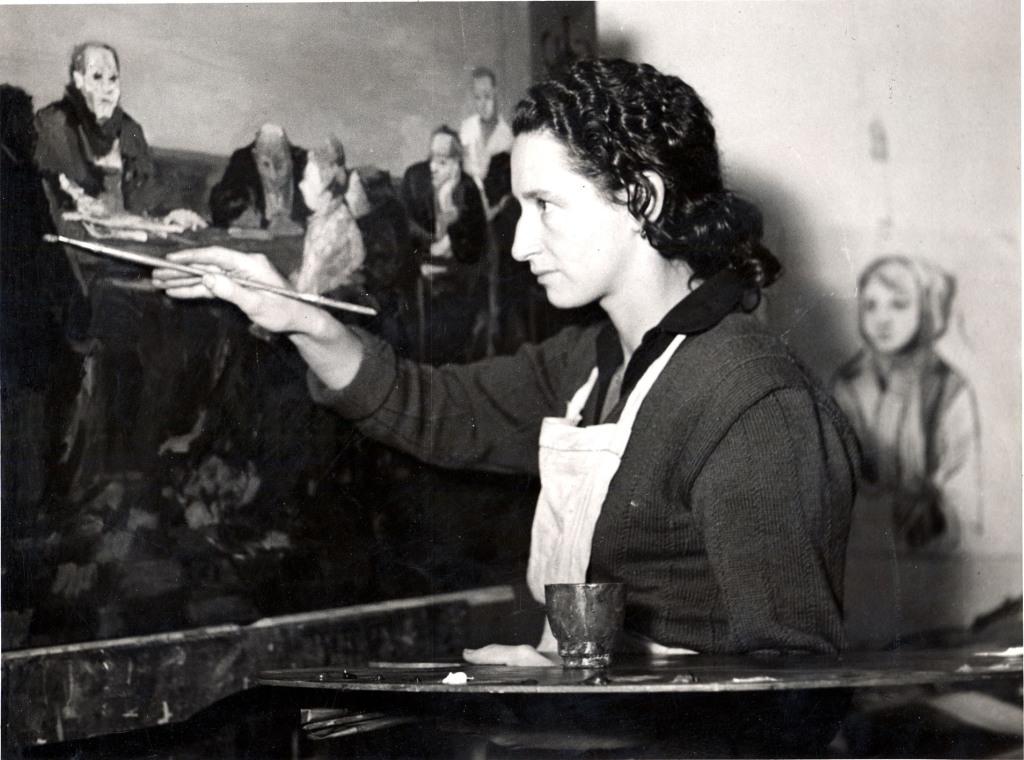 Mireille Glodek-Miailhe Une nouvelle realite poetique, les annees Artcurial Galerie Antoine Villeneuve