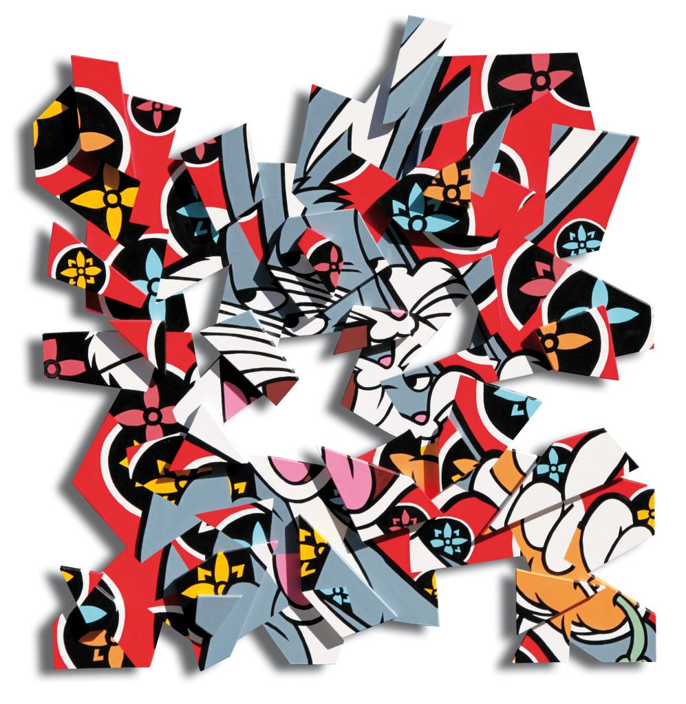 Speedy Graphito, Atomised Bunny, Musee du Touquet Paris-Plage - Jusqu'au 21 mai 2017