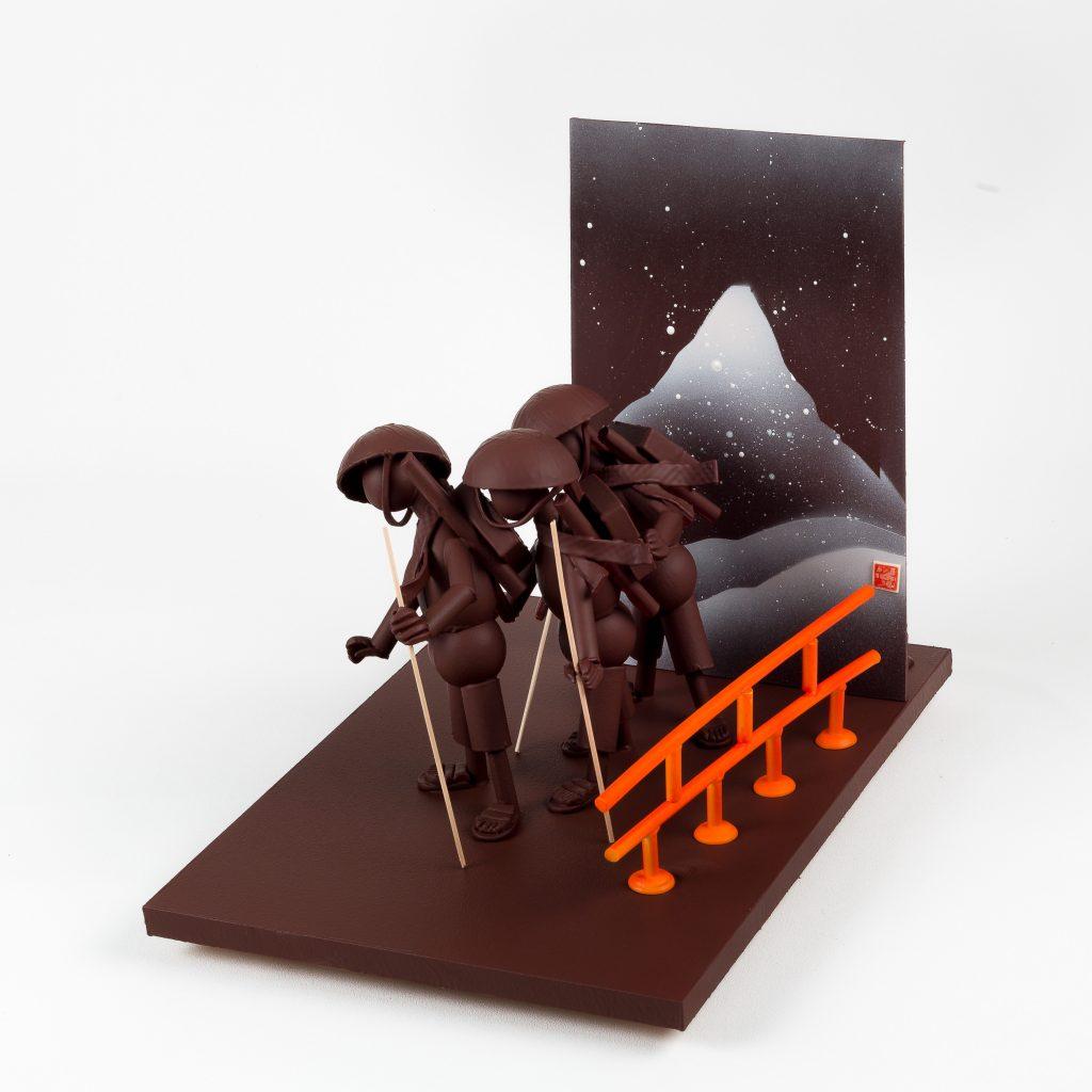 Exposition Influences, Petite histoire de l'art en chocolat par Valrhona