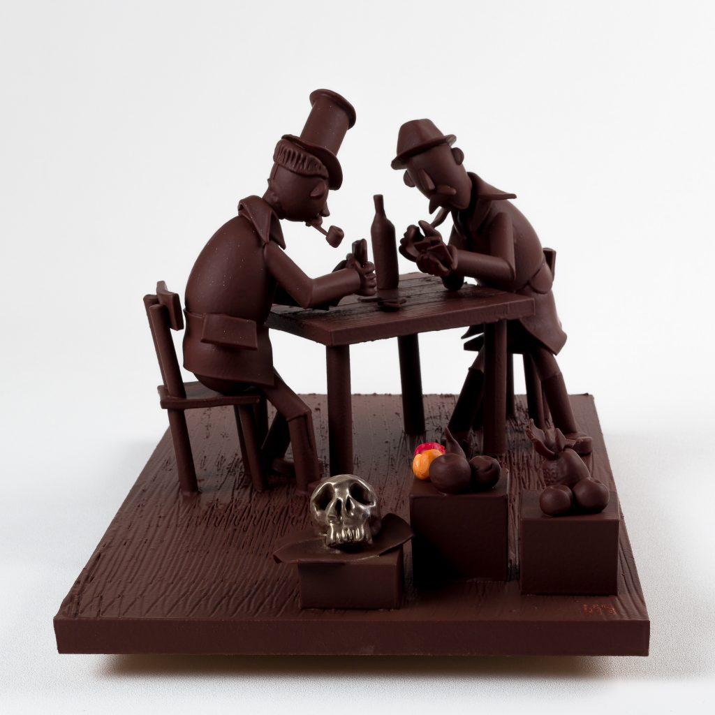 Exposition Influences, Petite histoire de l'art en chocolat par Varlhona