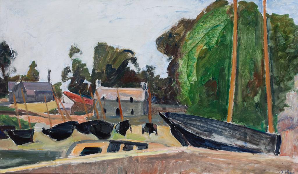 Puy_Barques - La modernite en Bretagne - Musee de Pont-Aven