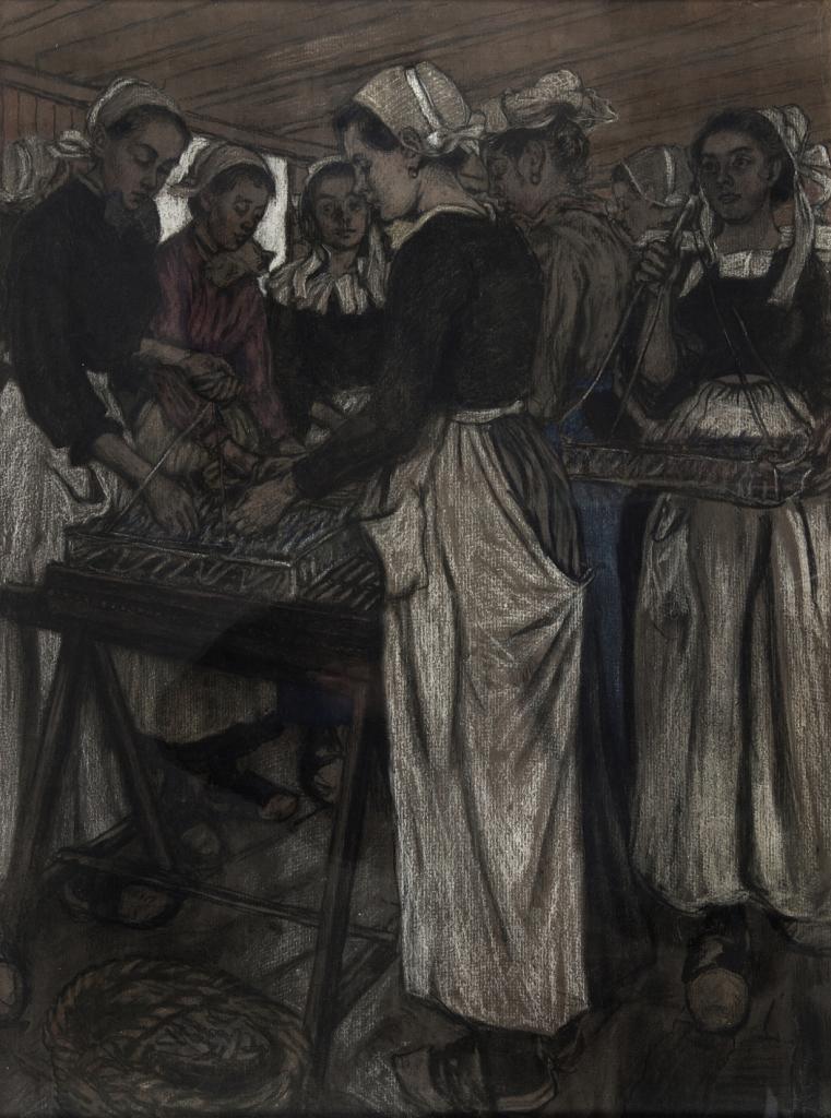 Recknagel_Ouvriere - La modernite en Bretagne - Musee de Pont-Aven