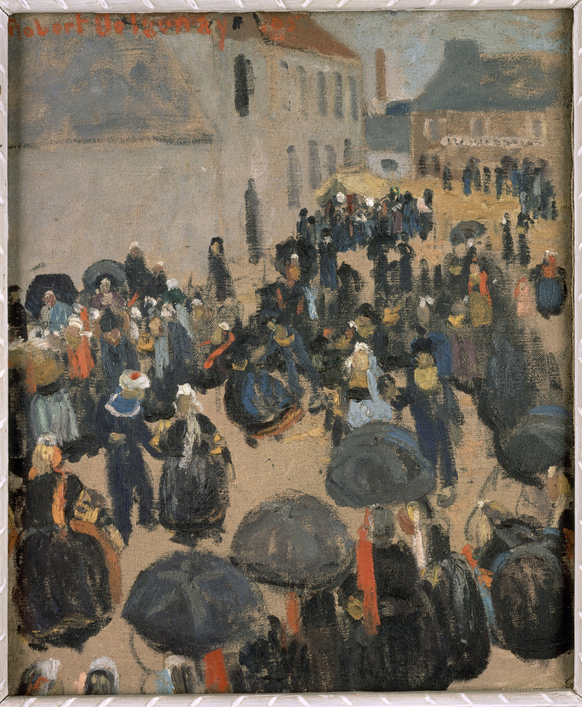 Delaunay_Fete - La modernite en Bretagne - Musee de Pont-Aven