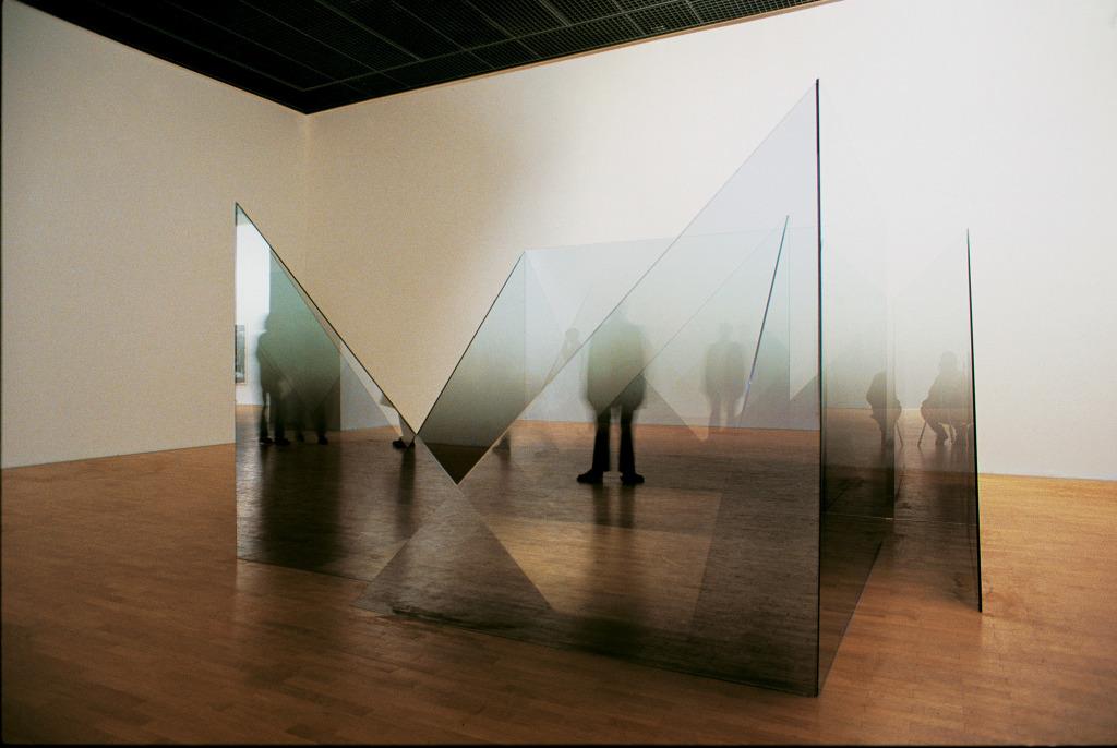 Larry Bell, First & Last, 1981-1989 - Exposition Los Angeles, une fiction au Musee d'Art Contemporain de Lyon