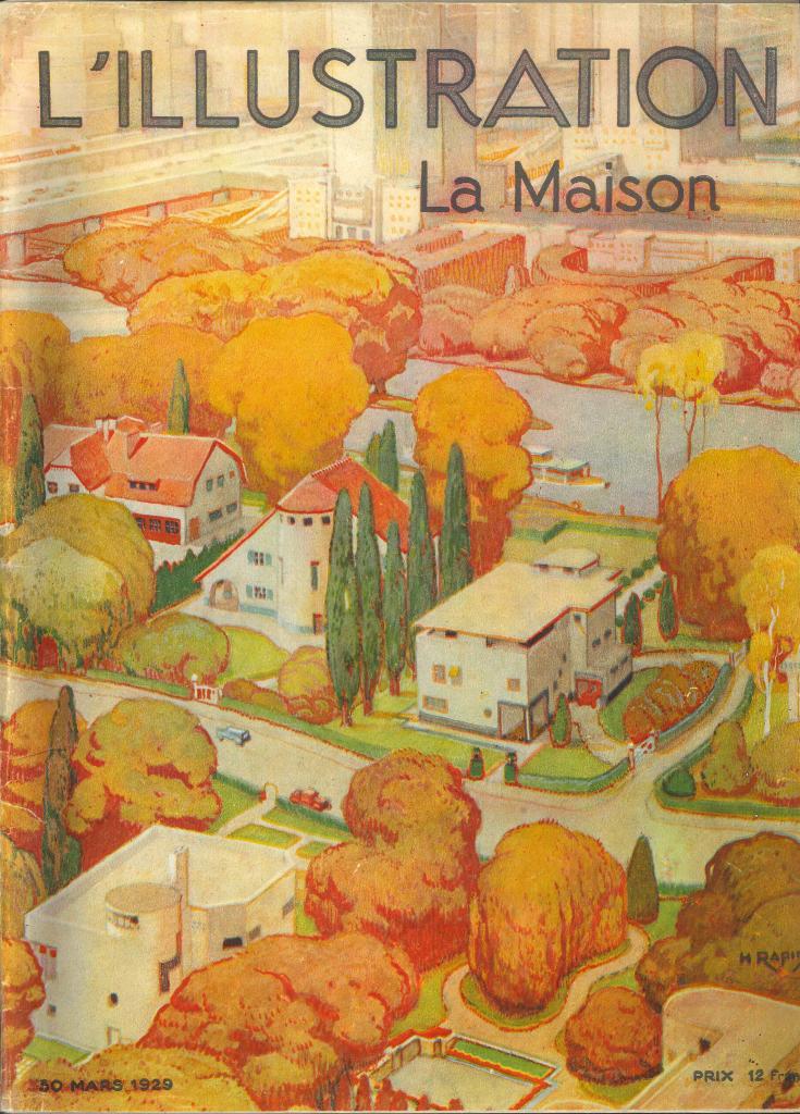 L'illustration La maison 1929 ©MUS Suresnes / Aux Origines du Grand Paris, 130 ans d'histoire au Musée d'Histoire Urbaine et Sociale de Suresnes jusqu'au 28 mai 2017