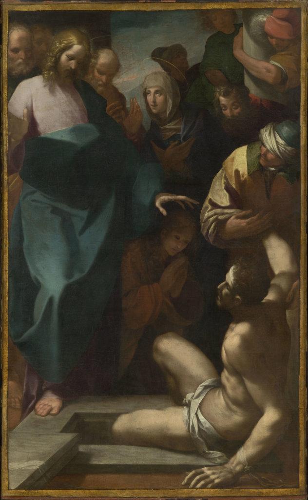 Morazzone, La Résurrection de Lazare - Exposition Heures Italiennes au Mudo de Beauvais
