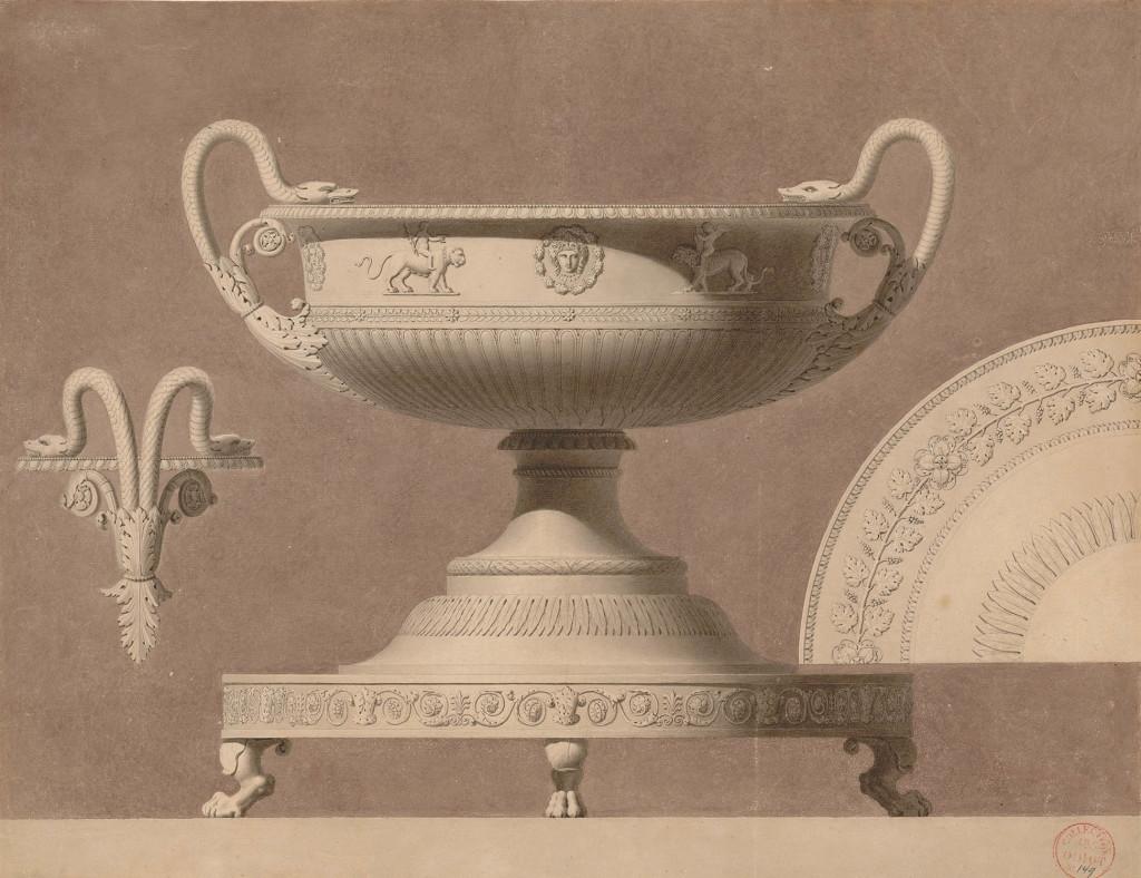 Dessiner l'or et l'argent, Odiot orfèvre au Musée des Arts Décoratifs