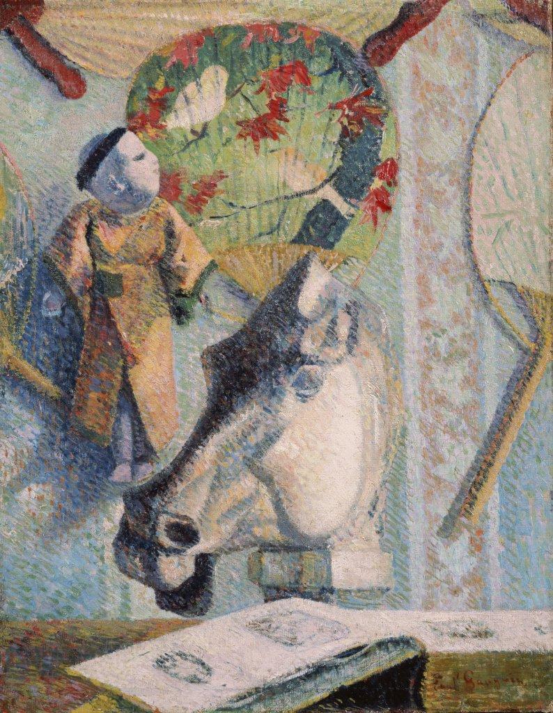 Paul Gauguin, Nature morte à la tête de cheval, 1886 - Tokyo-Paris, Chefs d'oeuvre du Bridgestone Museum