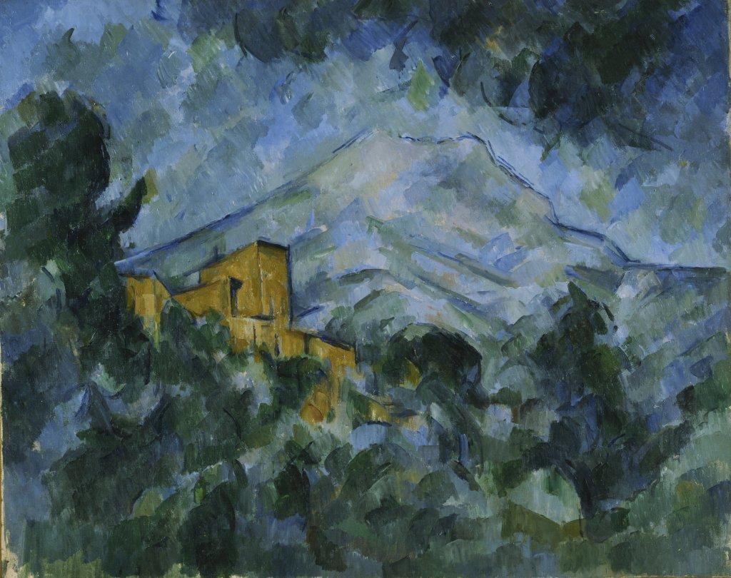 Paul Cezanne, Montagne Sainte-Victoire et Chateau Noir, vers 1904-1906 - Tokyo-Paris, Chefs d'oeuvre du Bridgestone Museum