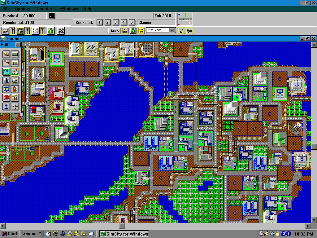 SimCity, GAME, le jeu vidéo à travers le temps, Espace Fondation EDF