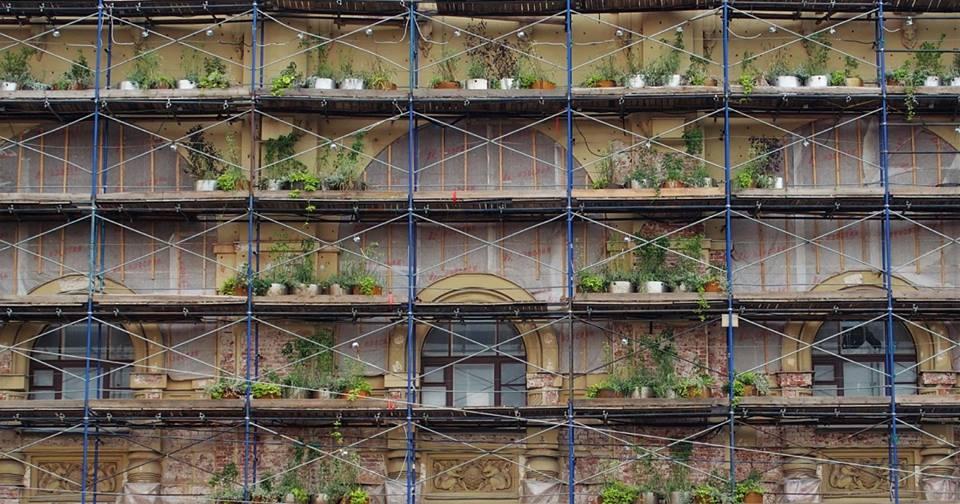 TISA . ARLES Le chantier est plus joli, 2e prix du concours Wipplay, Jardins Extraordinaires, Jardin du Luxembourg