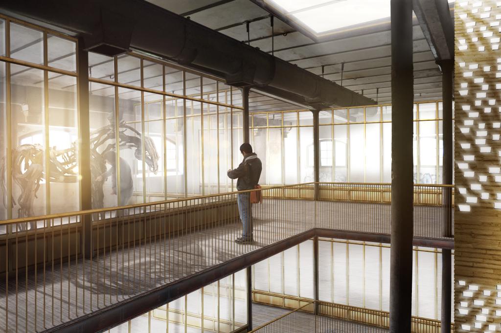 SOJA ARCHITECTURE, Transformation d'une malterie du XIXe siècle en résidence d'artiste © Gnou Studio - - AJAP à la Cité de l'Architecture et du Patrimoine