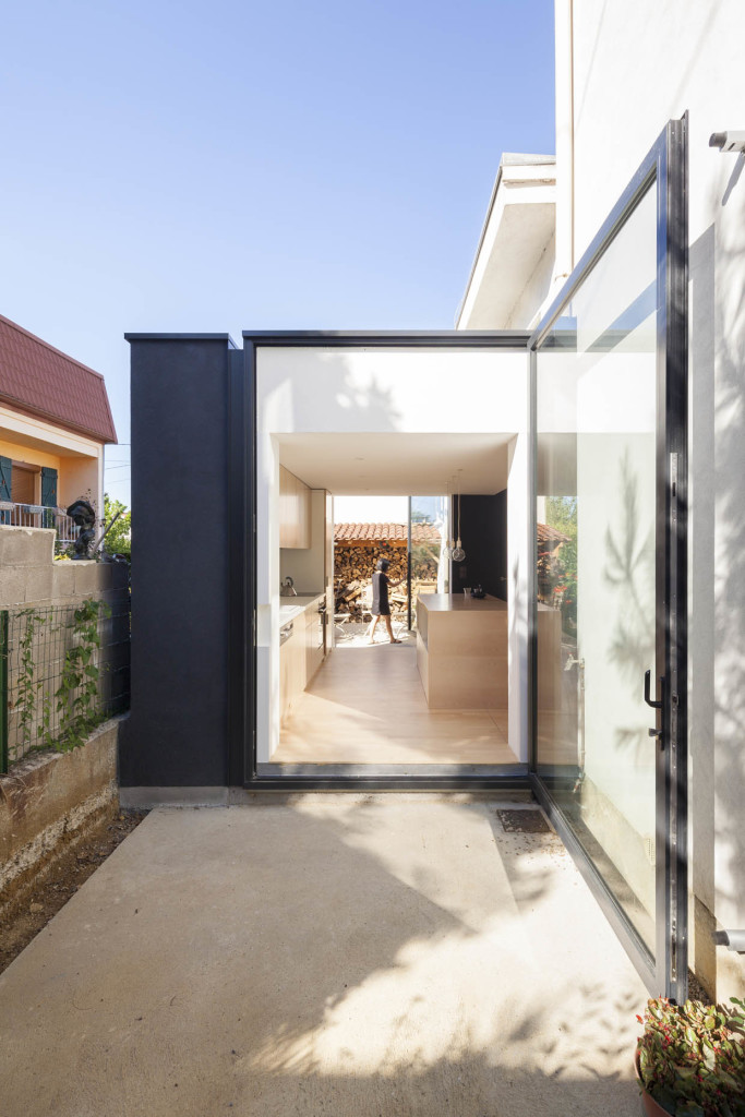 ABC STUDIO, 12x12, ouvrir une maison en lotissement, Villers-Lès-Nancy (54), 2015 © Cyrille Lallement - AJAP à la Cité de l'Architecture et du Patrimoine