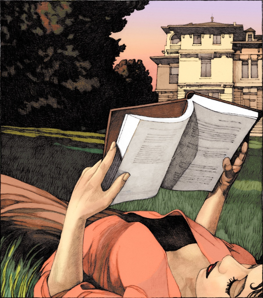 Miles Hyman - Le temps suspendu - Musee de l'Illustration Jeunesse de Moulins