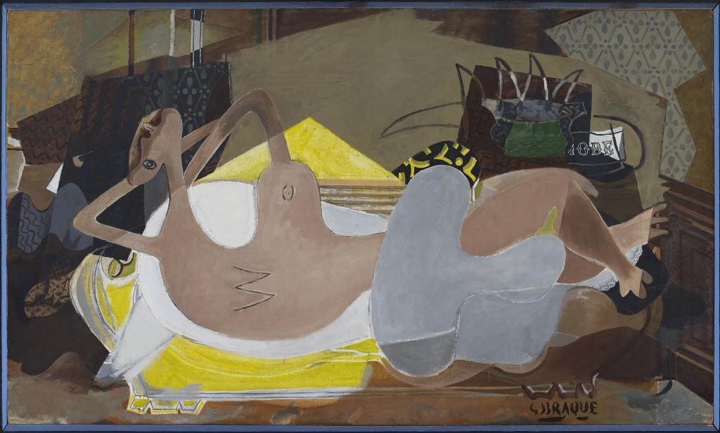 Georges Braque Nu couché, 1935 - Musée Maillol jusqu'au 23 juillet 2017