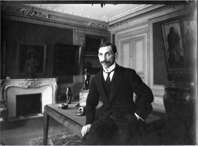 PAUL ROSENBERG 21 rue La Boetie 1914 - Musee Maillol