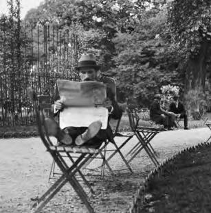 Le Jardin du Luxembourg 1928-1929, André Kertész, Jardins Extraordinaires, Jardin du Luxembourg