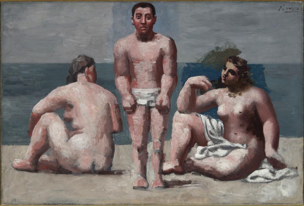 Pablo Picasso Baigneur et Baigneuse 1921 - Musée Maillol jusqu'au 23 juillet 2017