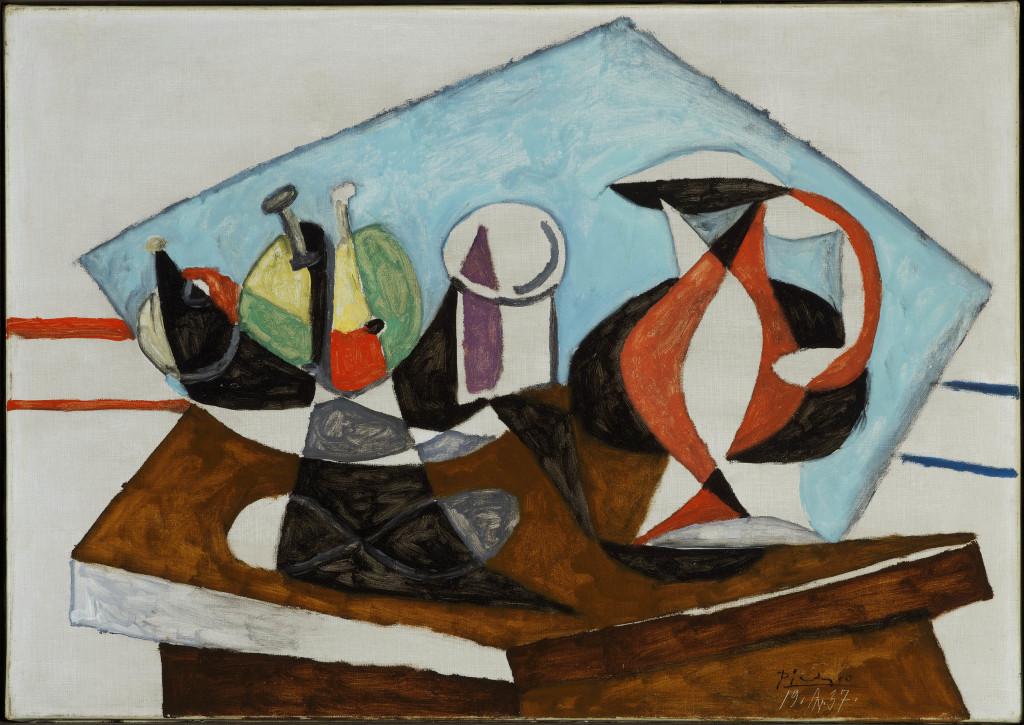 Pablo Picasso Nature morte 19.4.1937 - Musée Maillol jusqu'au 23 juillet 2017