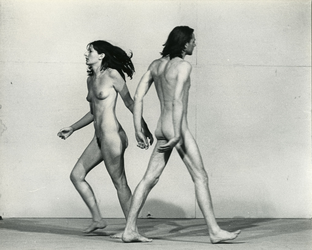 Ulay/Marina Abramovic Relation in Space Performance 58 minutes XXXVIII Biennale, Giudecca, Venice July, 1976 - The Cleaner, Moderna Museet Stockholm