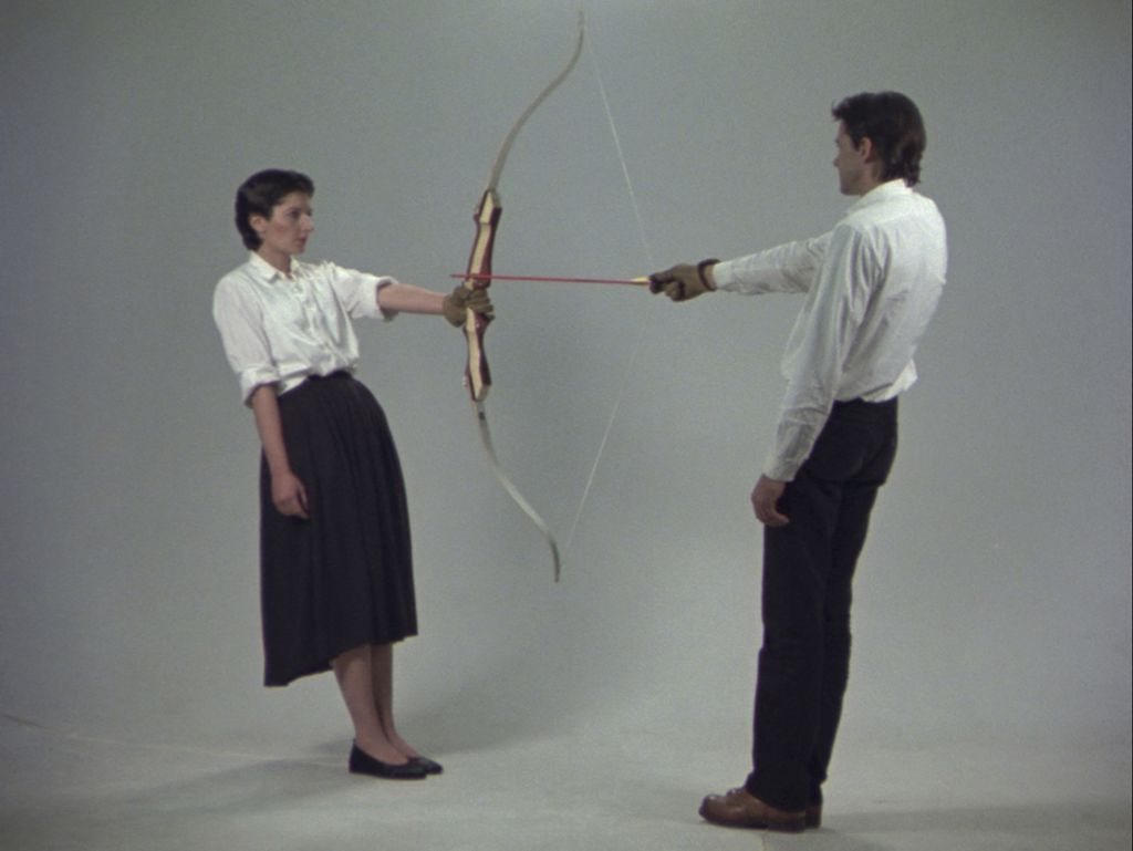 Ulay/Marina Abramovic Rest Energy Performance for Video 4 minutes, ROSC' 80, Dublin - The Cleaner, Moderna Museet Stockholm
