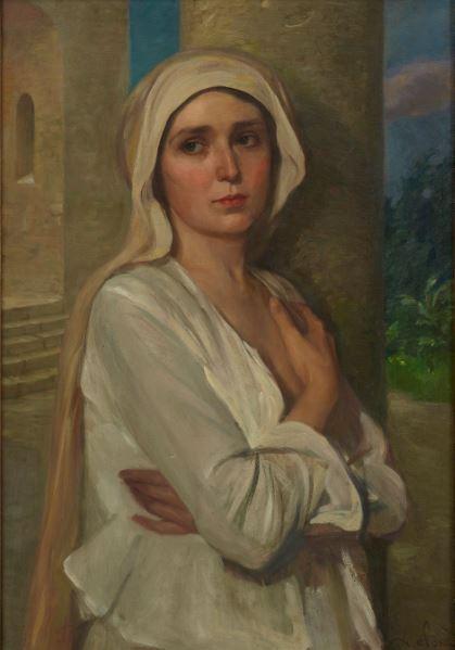 Alfred Hohn Junge Frau - 21 rue de la Boetie au Musee Maillol