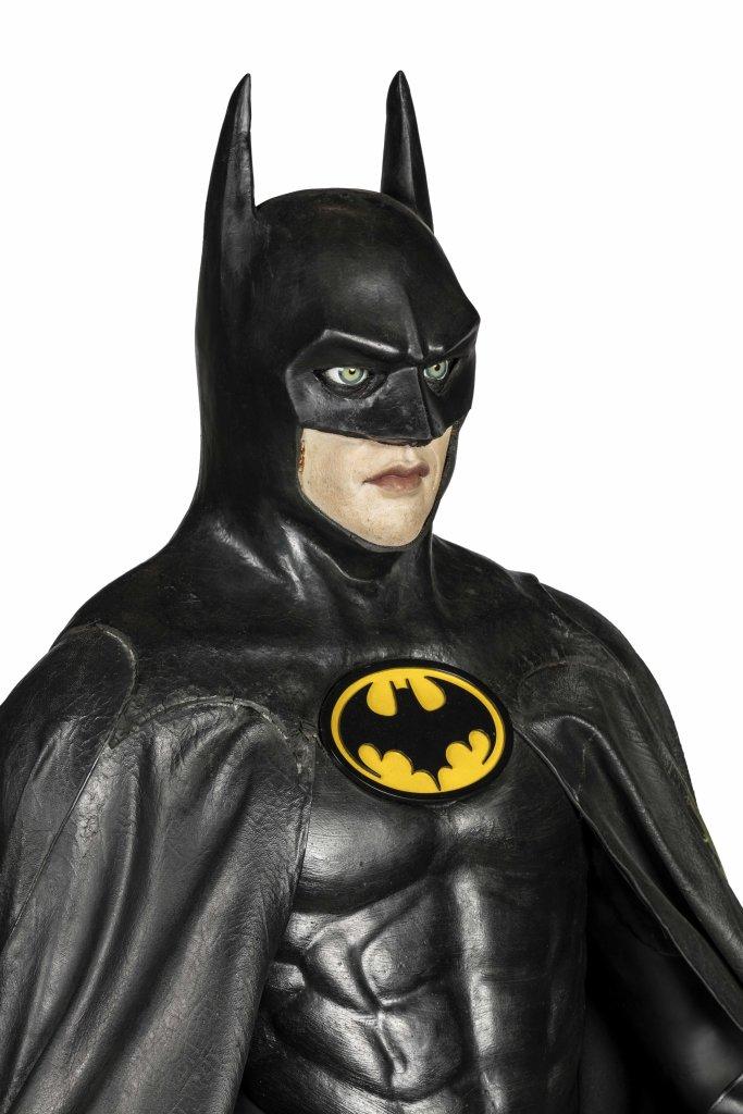 Batman 1989 Costume porté par Michael Keaton ™, L'art DC, L'aube des Super-Héros