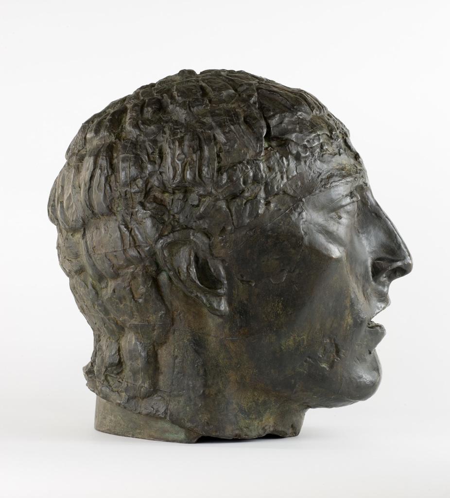 Bourdelle - Tete de l'eloquence - L'art et la matiere - Musee Fabre de Montpellier
