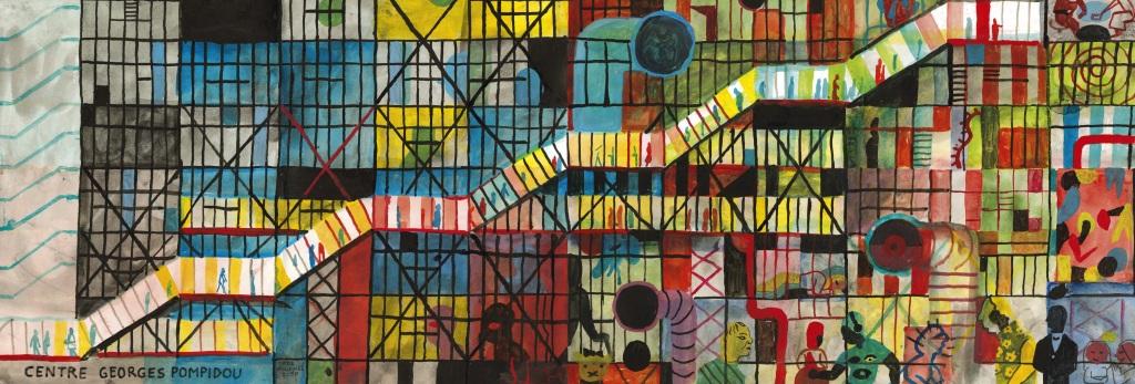 Brecht Evens Centre Pompidou -Hôtel Jules & Jim jusqu'au 8 mai 2017