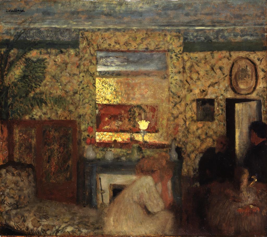 Edgar Degas Ludovic Lepic et ses filles, vers 1871 Edgar Degas Ludovic Lepic et ses filles, vers 1871