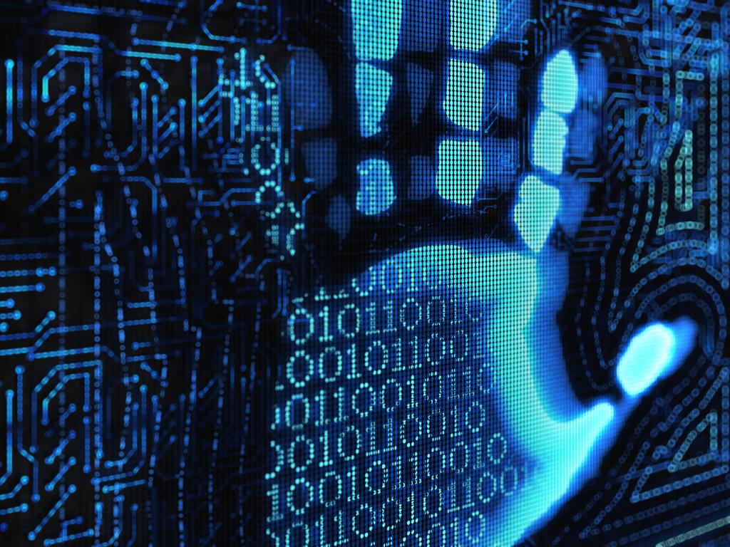 Binary handprint