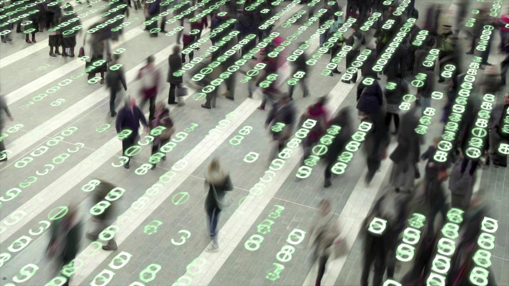 Living in a data matrix city