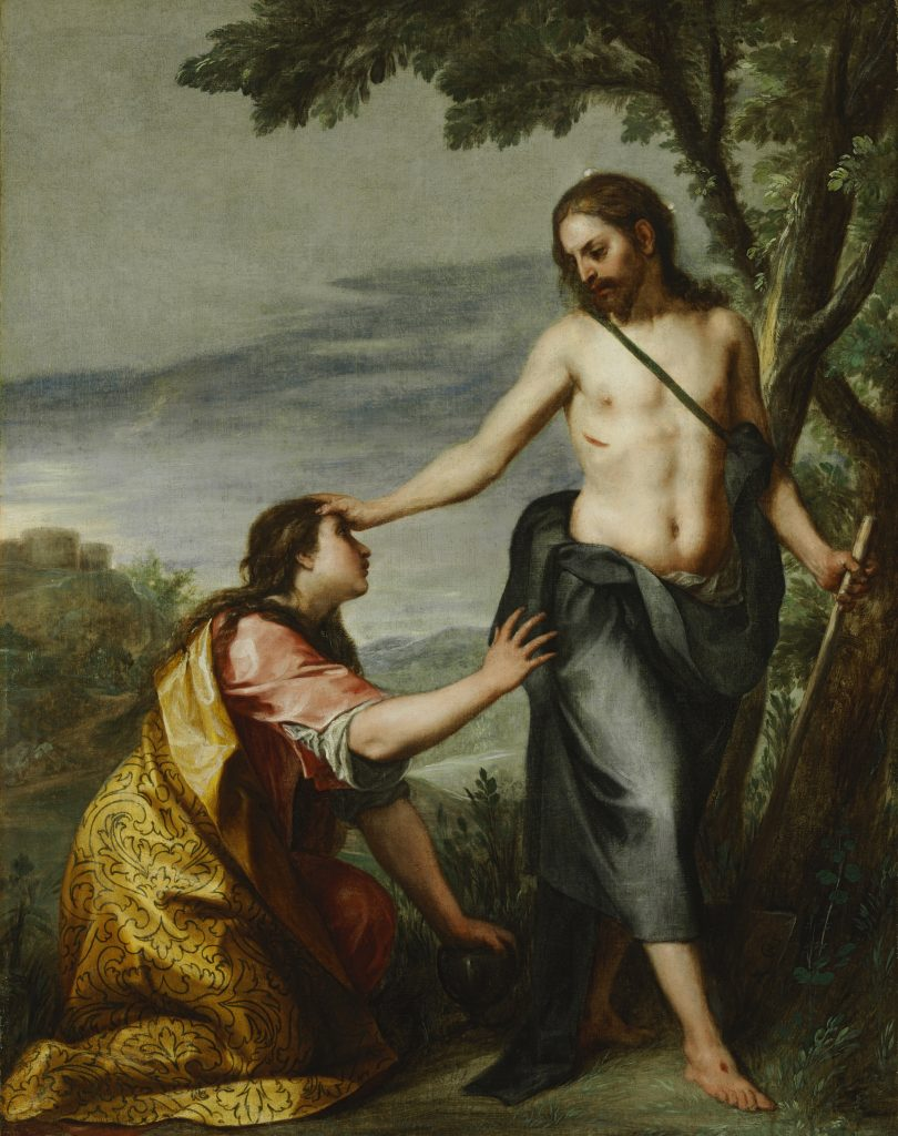 Noli me Tangere, Alonso Cano 1646 - 1652 - Masterpieces from Budapest. From the Renaissance to the Avant-Garde au Musee Thyssen- Bornemisza – Madrid