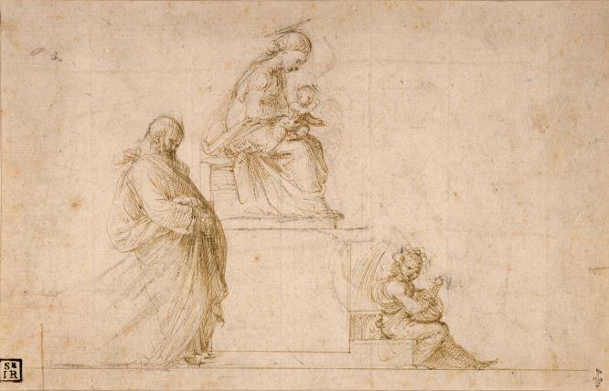 Bellini, Michel-Ange, le Parmesan. L'épanouissement du dessin a la Renaissance - Musee Conde - Chantilly - Jusqu'au 20 aout 2017