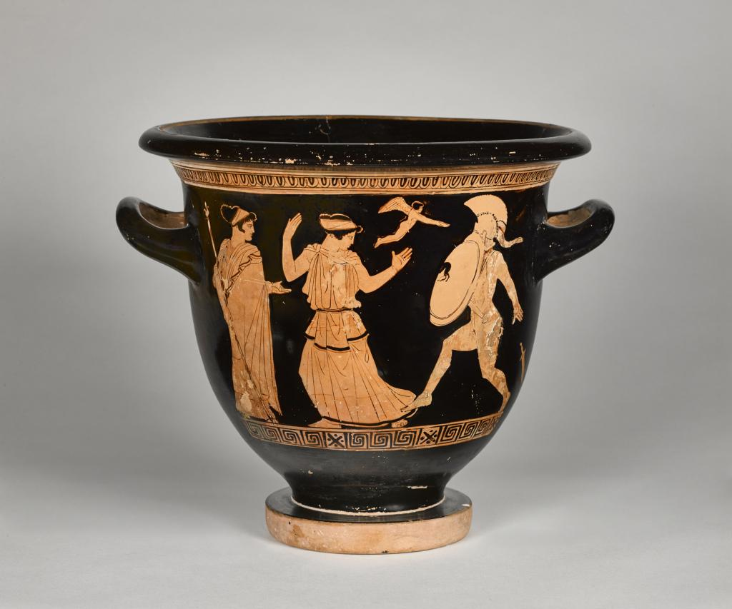 Cratère à figures rouges - Corps en mouvement, la danse au musee - Musee du Louvre