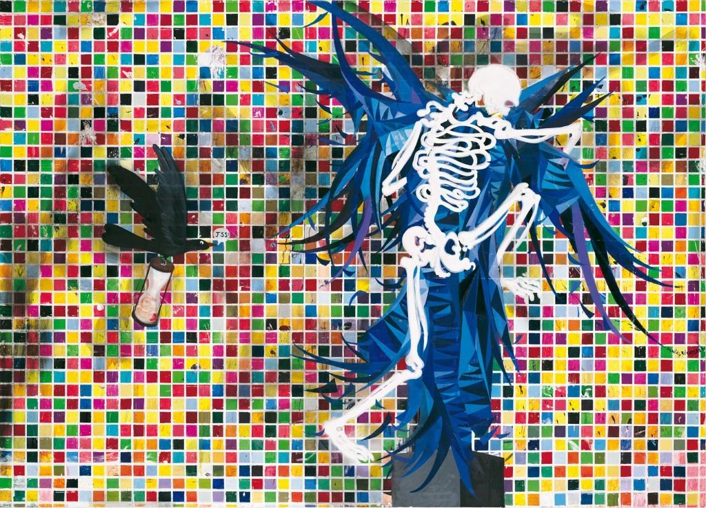 Daniel Richter, Alles Ohne Nichts, 2006-2007 - Daniel Richter, Lonely old slogans - 21er Haus – Vienne