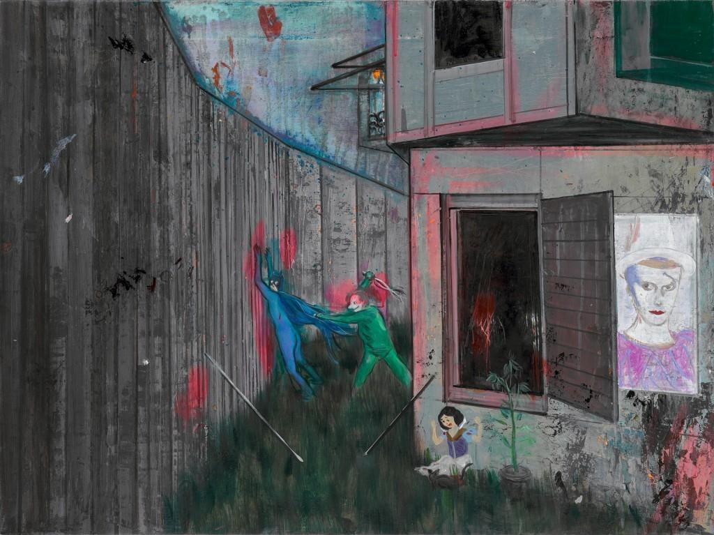 Daniel Richter, Erinnerungen an S.O.36, 2009 - Daniel Richter, Lonely old slogans - 21er Haus – Vienne