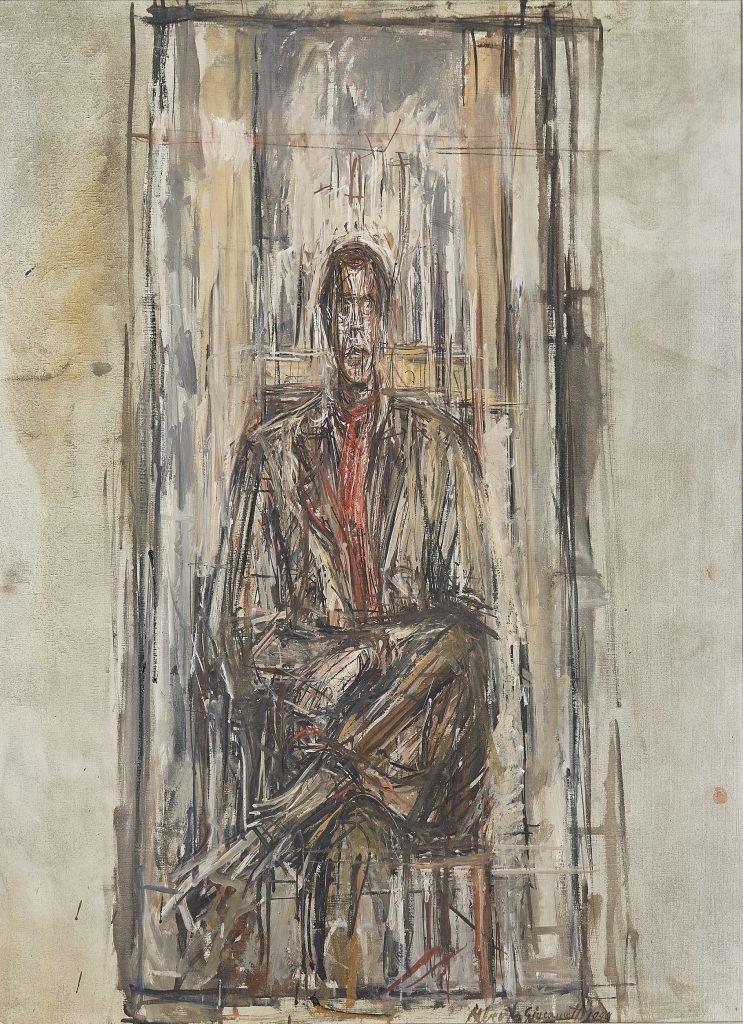 Diego Seated, Alberto Giacometti, 1948 - Modern Tate Londres