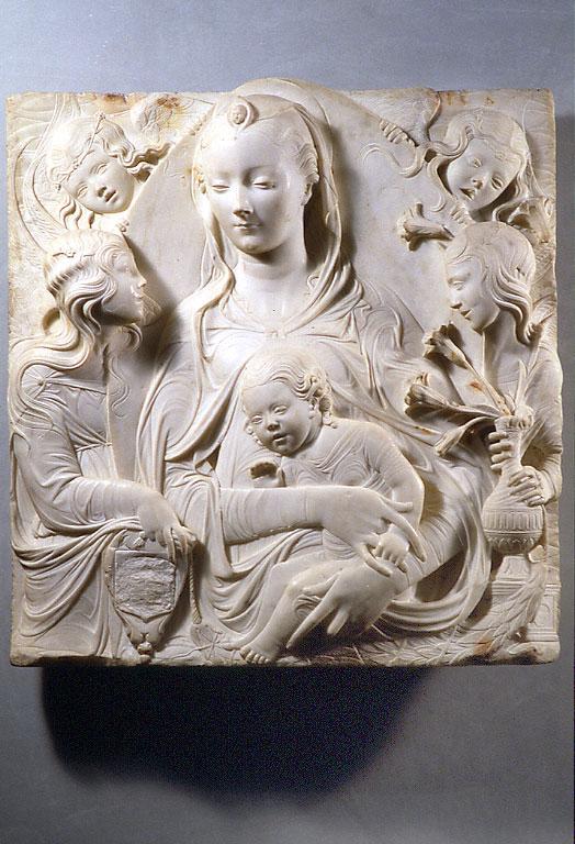 Duccio - Madone d'auvillers - L'art et la matiere - Musee Fabre de Montpellier