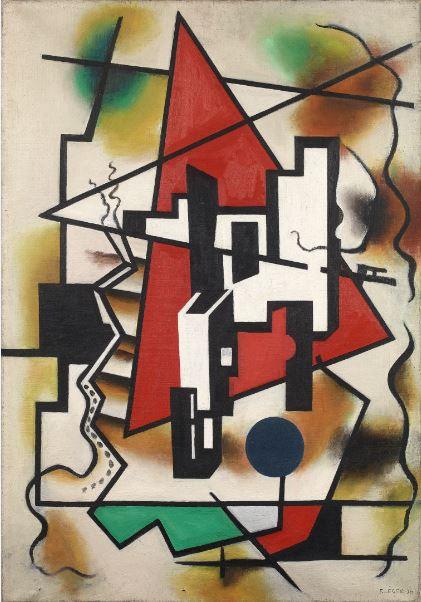 Fernand Léger - Sans Titre 1930 - Anne Sinclair - 21 rue de la Boetie au Musee Maillol
