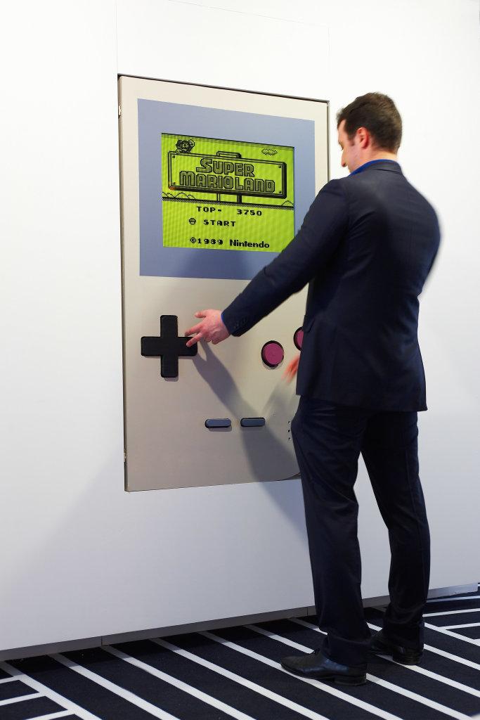 Fond EDF Game , GAME, le jeu vidéo à travers le temps, Espace Fondation EDF
