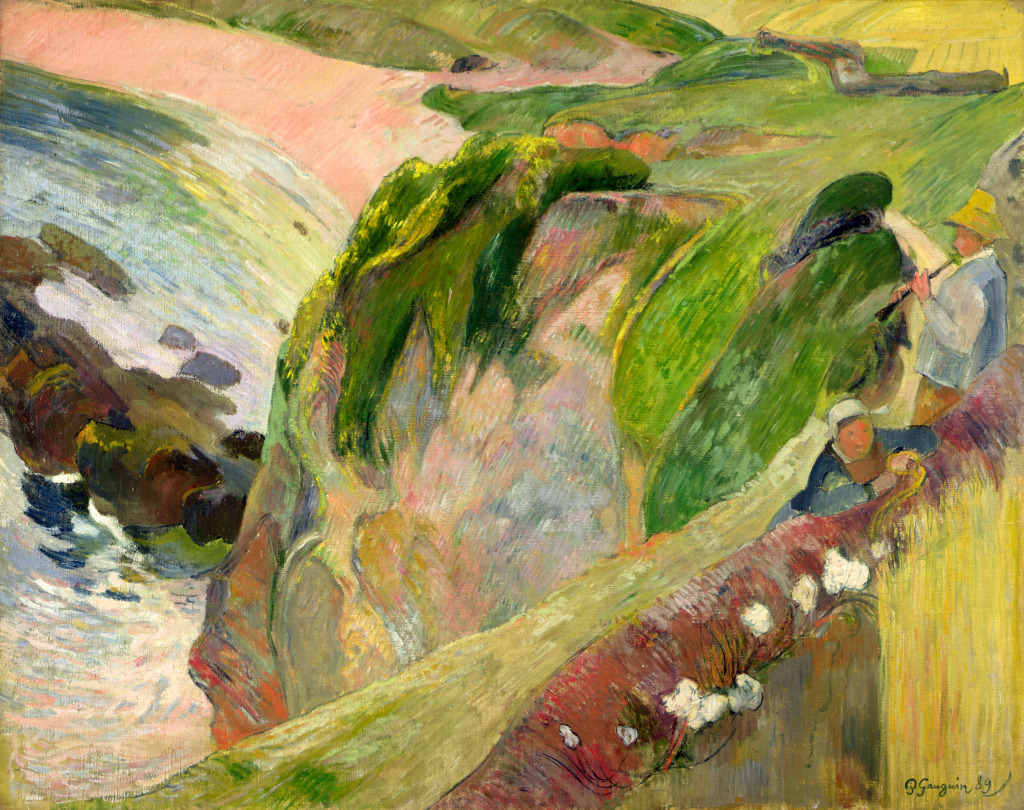 Flageolet Gauguin - Tintamarre! Instruments de musique dans l'art 1860-1910 - Musee des impressionnistes Giverny