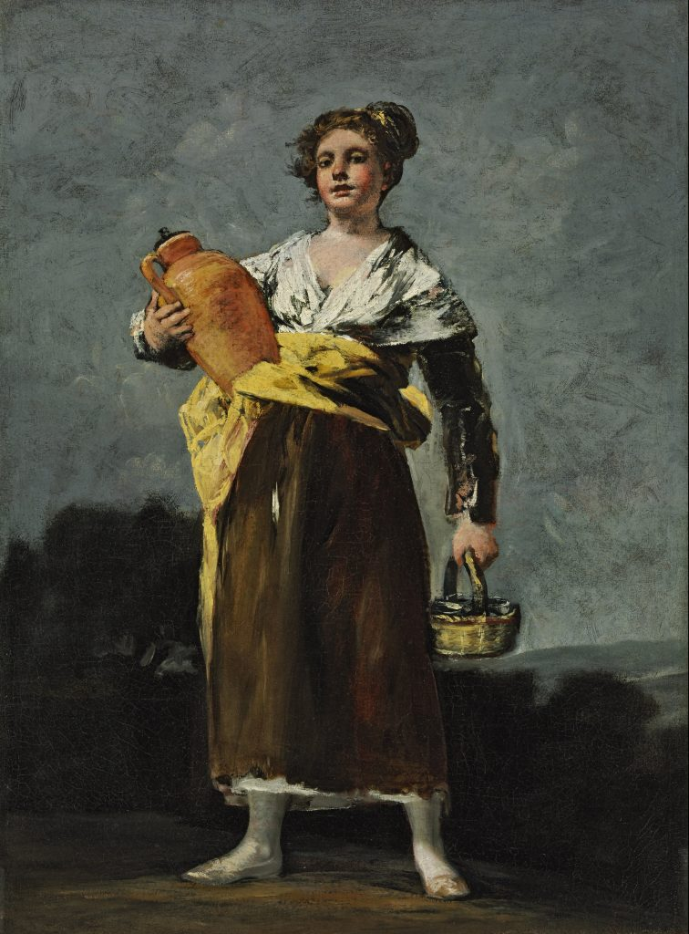 The Water Carrier, Goya, 1802-1812 - Masterpieces from Budapest. From the Renaissance to the Avant-Garde au Musee Thyssen- Bornemisza – Madrid