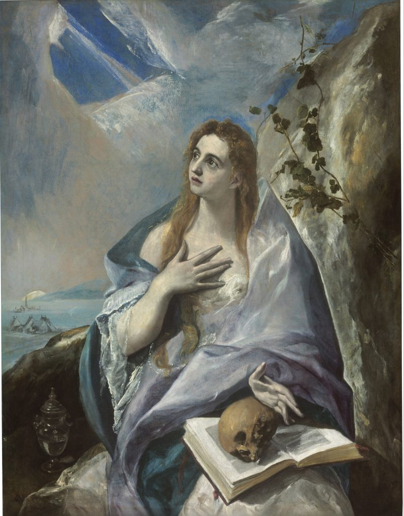 The Magdalene, El Greco - Masterpieces from Budapest. From the Renaissance to the Avant-Garde au Musee Thyssen- Bornemisza – Madrid
