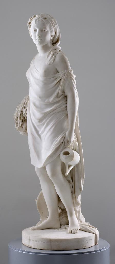 Houdon - L'ete - L'art et la matiere - Musee Fabre de Montpellier