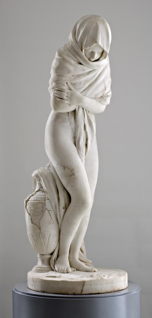 Houdon - L'Hiver - L'art et la matiere - Musee Fabre de Montpellier