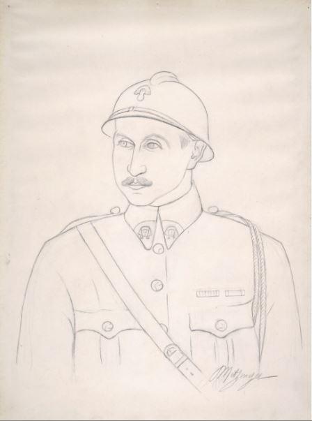 Jean Metzinger Leonce Rosenberg - 21 rue de la Boetie au Musee Maillol