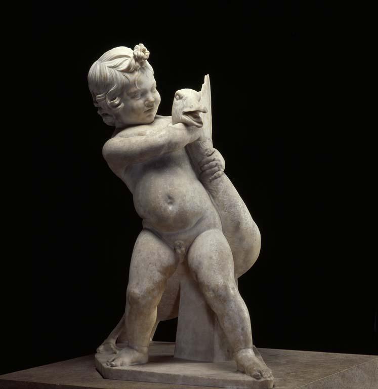 L'enfant et l'oie - L'art et la matiere - Musee Fabre de Montpellier