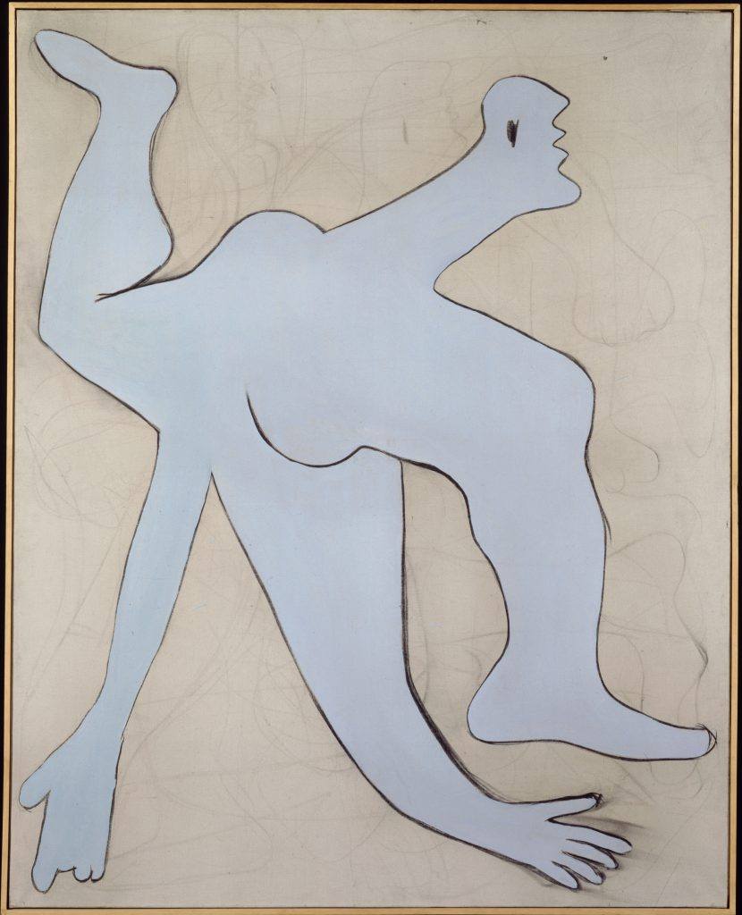 L'acrobate bleu, Pablo Picasso, 1929 - Olga Picasso Musee Picasso