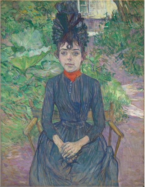 Henri de Toulouse-Lautrec, Justine Dieulh, 1891 - 21 rue de la Boetie au Musee Maillol